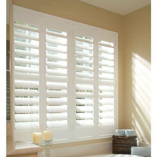 white shutters - 1800 blinds