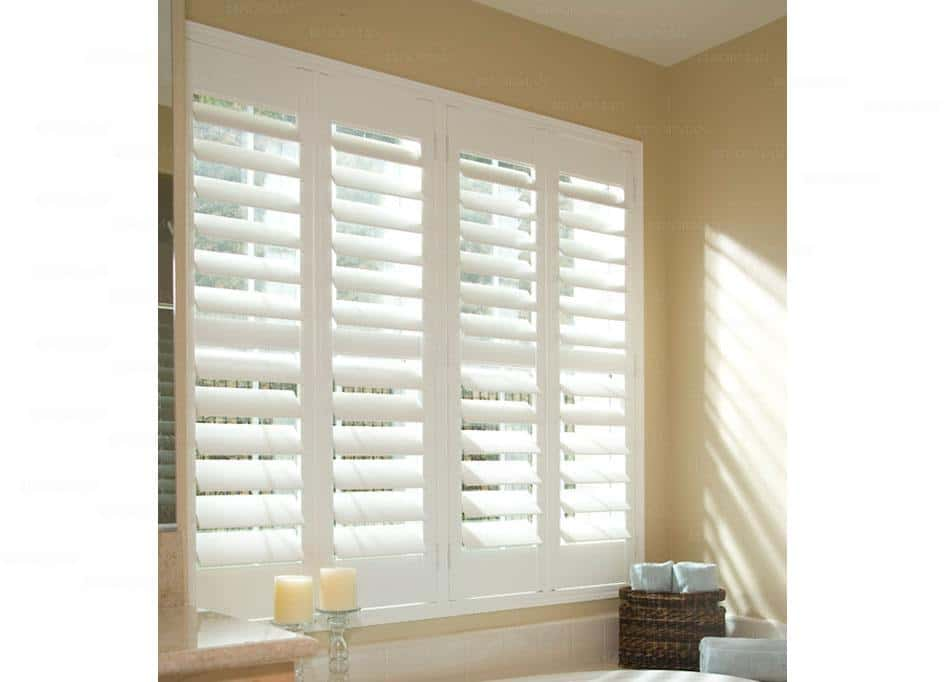 white shutters - 1800 blinds
