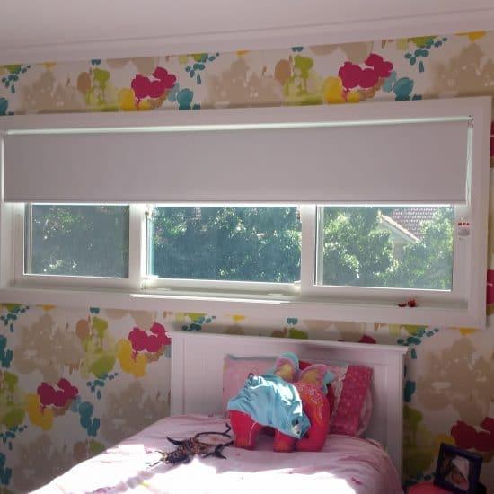 1800 Blinds - Blockout Roller Bedroom