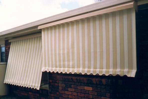 window awnings - 1800 blinds