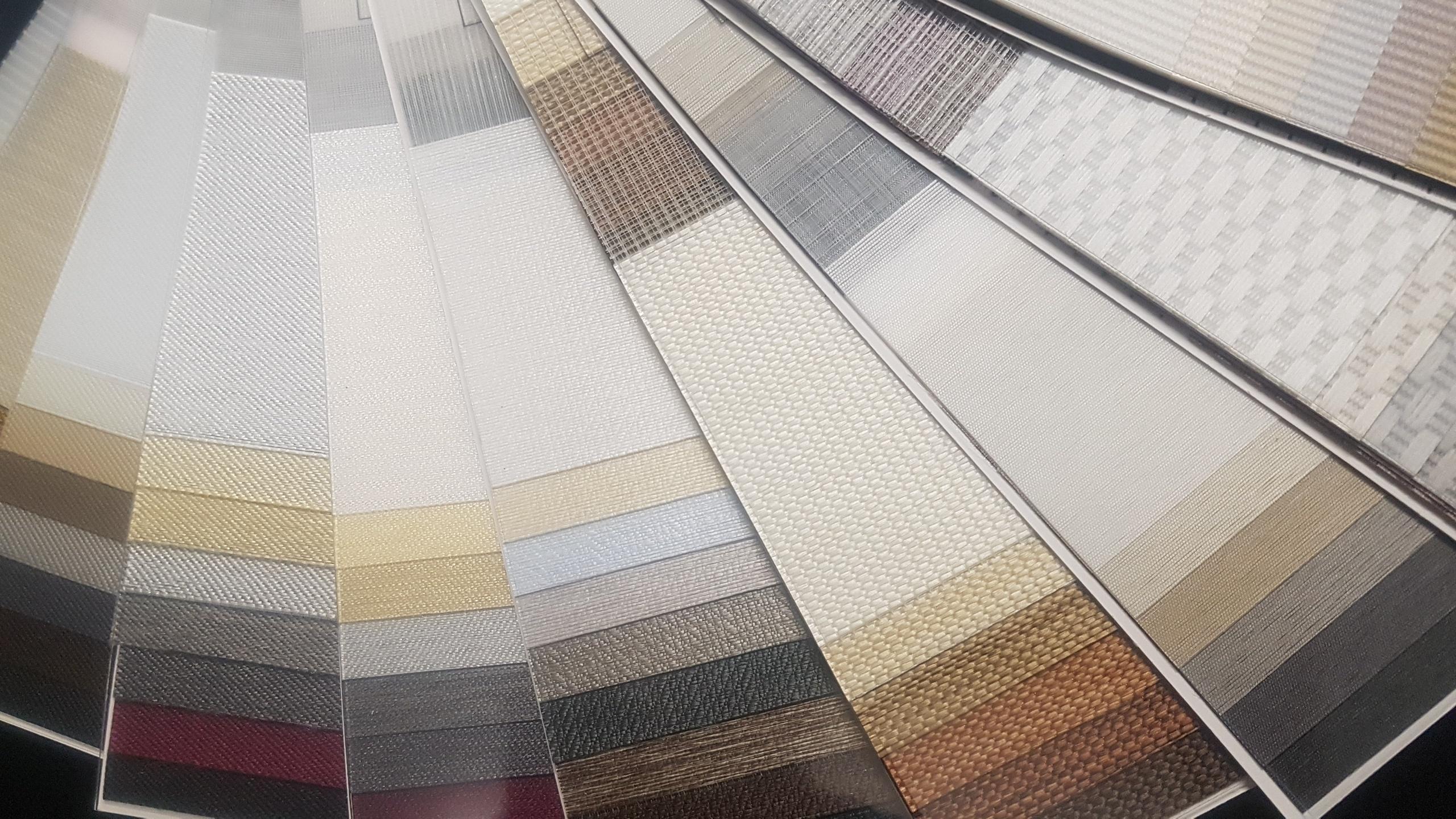 Zebra Blinds Fabric Options