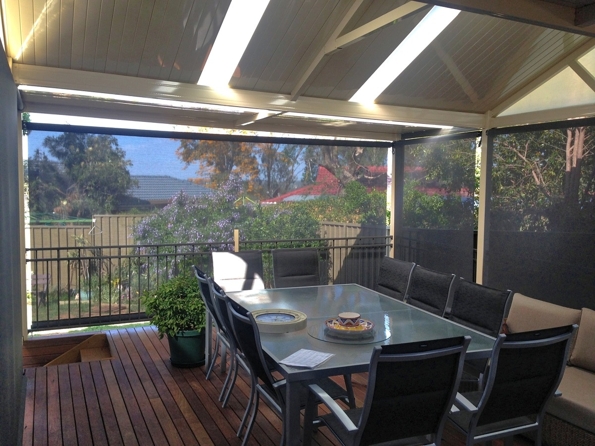Outdoor Entertaining - 1800-BLINDS